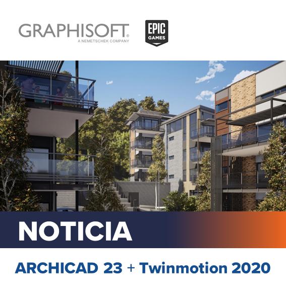 ARCHICAD 23 + Twinmotion 2020
