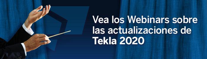 Tekla 2020 Webinars