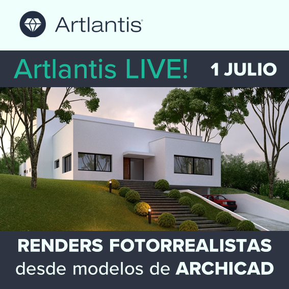 Artlantis LIVE! Webinar