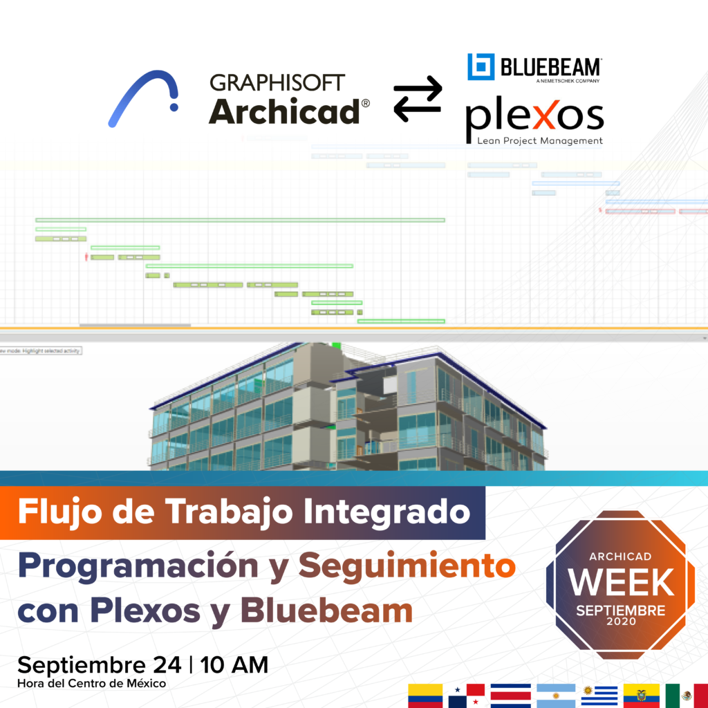 PLEXOS BLUEBEAM | Archicad Week Sep 2020