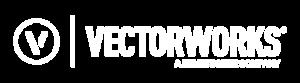 vectorworks logo blanco