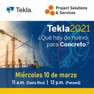 Webinar Tekla 2021 para Concreto